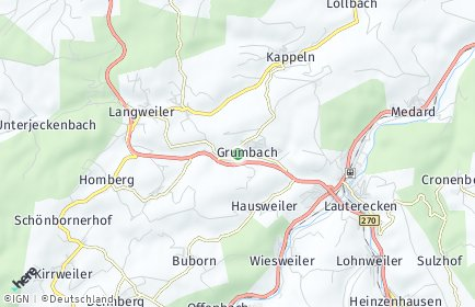 Stadtplan Grumbach