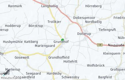 Stadtplan Grundhof