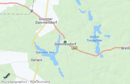 Stadtplan Grunow-Dammendorf