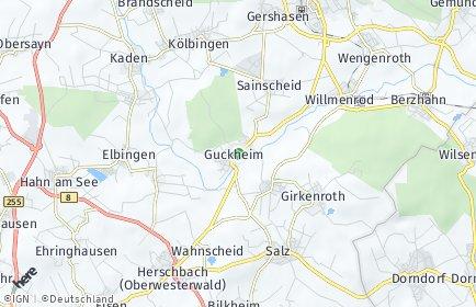 Stadtplan Guckheim