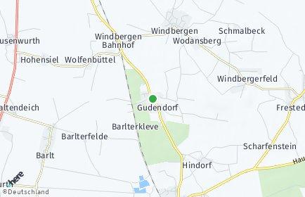 Stadtplan Gudendorf