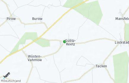 Stadtplan Gülitz-Reetz