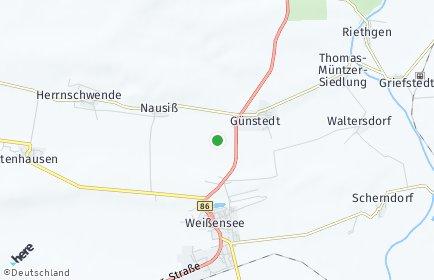 Stadtplan Günstedt
