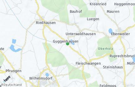 Stadtplan Guggenhausen