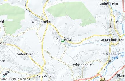 Stadtplan Guldental