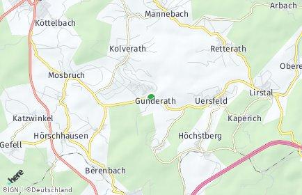 Stadtplan Gunderath