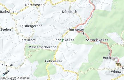 Stadtplan Gundersweiler