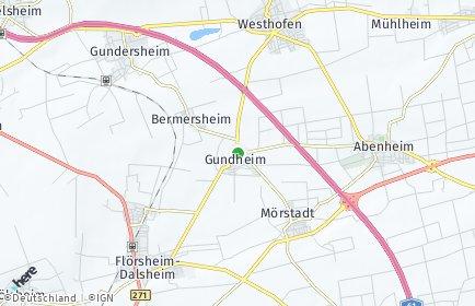 Stadtplan Gundheim