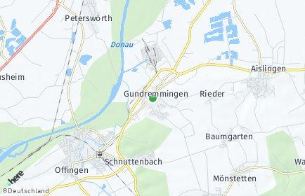 Stadtplan Gundremmingen