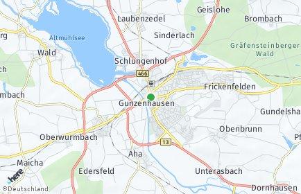 Stadtplan Gunzenhausen