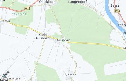 Stadtplan Gusborn