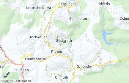 Stadtplan Gusterath