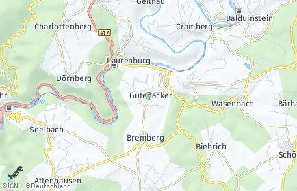 Stadtplan Gutenacker