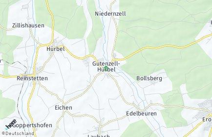 Stadtplan Gutenzell-Hürbel