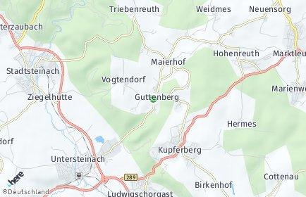 Stadtplan Guttenberg