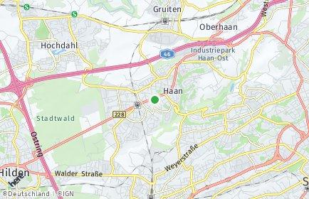 Stadtplan Haan