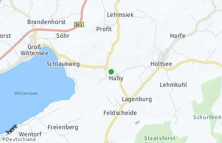 Stadtplan Haby