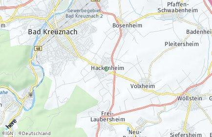 Stadtplan Hackenheim