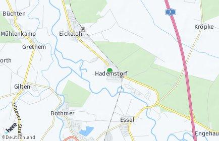 Stadtplan Hademstorf