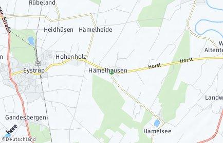 Stadtplan Hämelhausen