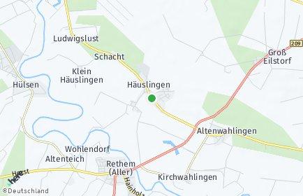 Stadtplan Häuslingen