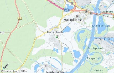 Stadtplan Hagenbach