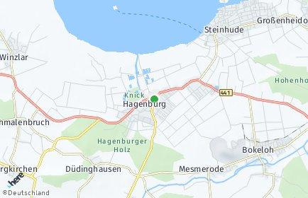 Stadtplan Hagenburg