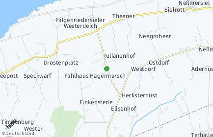 Stadtplan Hagermarsch