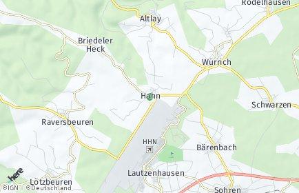 Stadtplan Hahn (Hunsrück)
