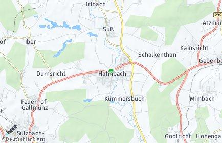 Stadtplan Hahnbach