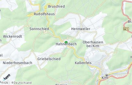 Stadtplan Hahnenbach