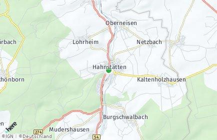Stadtplan Hahnstätten