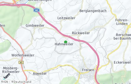 Stadtplan Hahnweiler