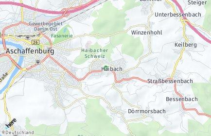 Stadtplan Haibach (Unterfranken)