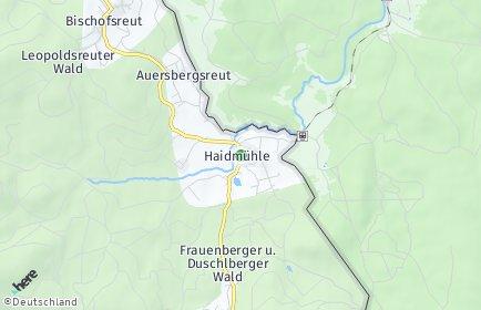 Stadtplan Haidmühle