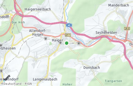 Stadtplan Haiger