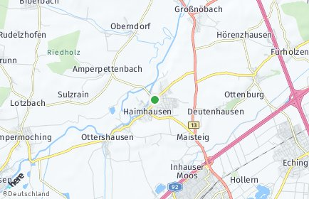 Stadtplan Haimhausen