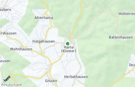 Stadtplan Haina (Kloster)