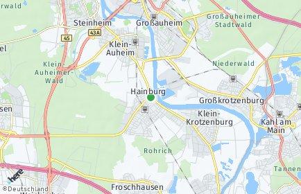 Stadtplan Hainburg