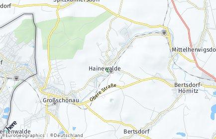 Stadtplan Hainewalde