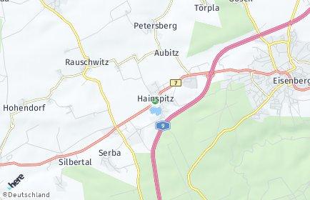 Stadtplan Hainspitz