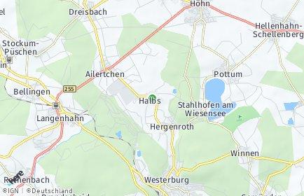 Stadtplan Halbs