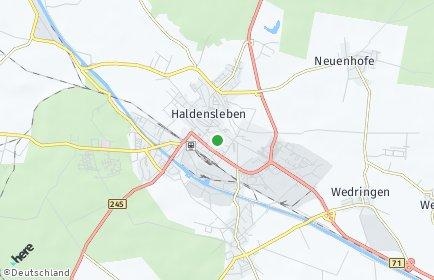 Stadtplan Haldensleben OT Satuelle