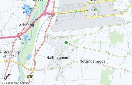 Stadtplan Hallbergmoos
