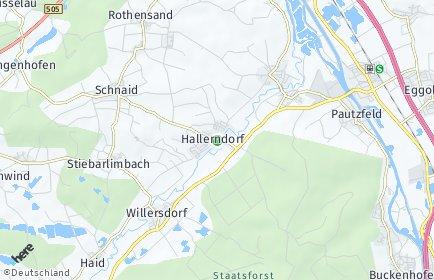 Stadtplan Hallerndorf