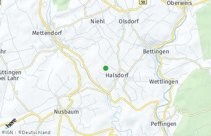 Stadtplan Halsdorf