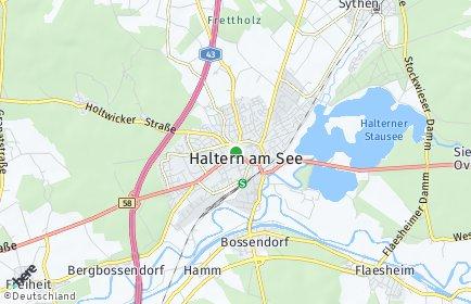Stadtplan Haltern am See