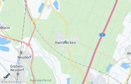 Stadtplan Hambrücken