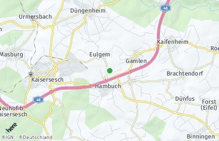 Stadtplan Hambuch