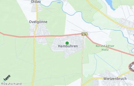 Stadtplan Hambühren OT Oldau